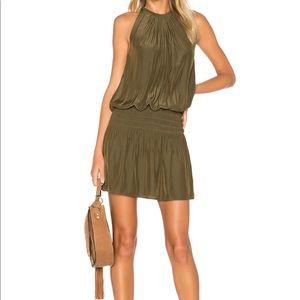 RAMY BROOK Paris Sleeveless Dress in Urban Green